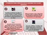 Consejos para aprovechar al máximo tus clases virtuales
